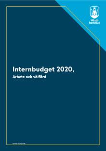 Arbete och välfärd internbudget 2020