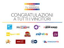 Annunciati i vincitori degli Eutelsat TV Awards 2016
