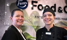 Fazers kocklag OS-laddar genom att laga mat på Food Tech 2019