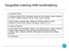 Ny förmånlig hemförsäkring för medlemmar i HSB