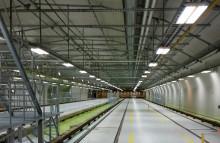 Tunnelduk på nytt sätt i Norsborgsdepån