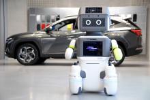 """Hyundai/Kia koncernen introducerer Avanceret Humanoid Robot, """"DAL-e"""", til automatiseret kundeservice"""