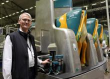 Stort intresse för robotiserad karusell