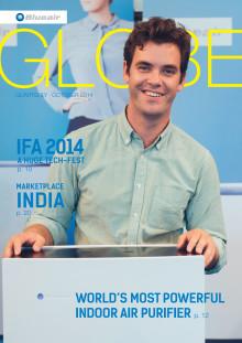 Blueair publishes new issue of its Blueair Globe Magazine