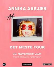 Annika Aakjær gæster Falkoner Salen 30. november 2021
