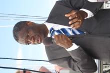 Press conference with Dr. Denis Mukwege in Stockholm