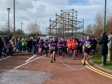 Teesside runners join the resolution for the Stroke Association