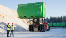 ​Green Cargo maximizes volume capacity for Söderenergi with new XXXL containers