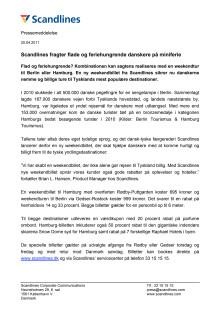 Scandlines fragter flade og feriehungrende danskere på miniferie