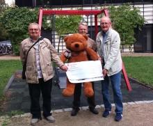 Garagenverband Leipzig e.V. spendet Überschuss an Bärenherz