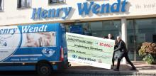 """""""Henry Wendt Installationsbetrieb GmbH"""" spendet 20.000 Euro anlässlich des 30-jährigen Firmenjubiläums"""