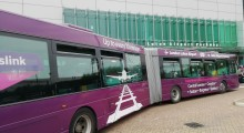 Thameslink's Luton Airport shuttle bus now takes contactless payment