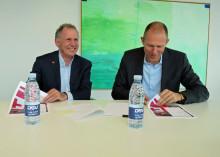 Red Cross Denmark signs international agreement with DSV