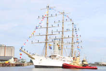 Argentinian full-rigged ship in Malmö