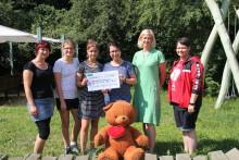 Oberschule Naunhof spendet 500 Euro
