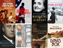 Höstens kommande böcker på Historiska Media