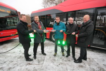 Oslo har fått sine første elbusser