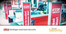 Jula förlänger med Gate Security