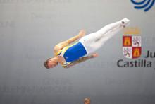 Jonas Nordfors vidare i kvalet – hoppar EM-semifinal i trampolin imorgon lördag