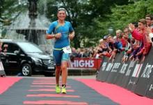 Triathlonstjärnan ser fram emot att tävla på hemmaplan