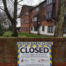 Three flats in one block closed in Stanwell following drug related antisocial behaviour
