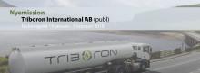 Nyemission i Triboron – den svenska teknologin för snabb minskning av koldioxidutsläppen