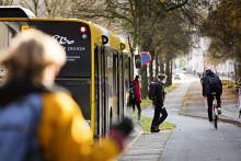 Midttrafik indsætter lynture på linje 12 fra Hjortshøj mod Aarhus om morgenen