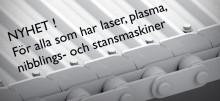 Nyhet för laser, plasma, nibblings- och stansmaskiner
