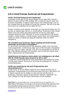 Frågor och svar ljusterapi