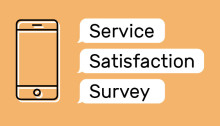 New service satisfaction survey launched