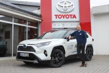 Høy Toyota-etterspørsel i april i Steinkjer