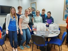 Fred. Olsen staff, guests and crew raise £1,400 for the RNLI's 'Fish Supper' campaign, both on land and at sea