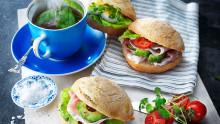 Lanserer singelpakkede rundstykker for mer hygienisk matservering