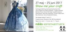 Show Me Your Craft  en internationell samlingsställning på Nääs Konsthantverk