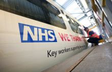 Govia Thameslink Railway re-brands trains to support NHS