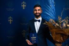 Ali blev årets unga domare på Fotbollsgalan