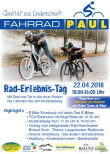 Rad-Erlebnistag-Programmflyer 2018