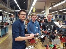 Bürener Jugendliche beim Energy Camp von Westfalen Weser Energie