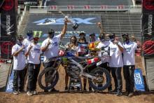 AMAスーパークロス選手権250SXウエスト フェランディス選手が同クラス2連覇、ヤマハとしては3連覇を達成