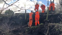 Cheshire landslide: Disruption to London Northwestern Railway services expected on Tuesday