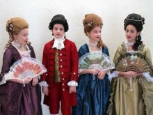 Barnkör från Botkyrka uppträder på Drottningholms Slottsteater