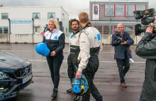 Next Skövde provåkte banan inför helgens STCC-tävlingar
