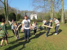 Geschwisterbegleitung im Kinderhospiz Bärenherz: Kennenlern-Picknick im Park