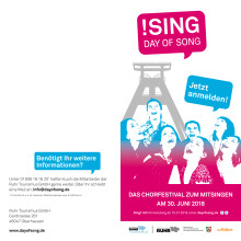 Flyer: !SING - DAY OF SONG