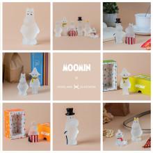 Hello Moomin fans - Nå lanseres Mummifigurer i frostet glass fra Hadeland Glassverk