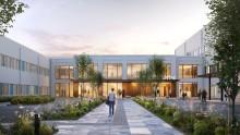 Skaraborgs sjukhus byggs ut med nya metoder -  sjukhuspersonalen engageras i arkitektarbetet