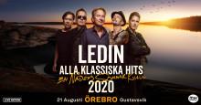 Tomas Ledin till Gustavsvik, Örebro, den 21/8!