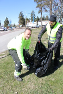 Gästrike återvinnare håller rent på skräpplockardagarna