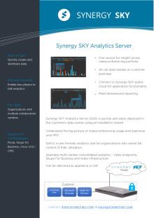 Analytic Server