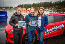 1000 ungdommer har nå gjennomført Fords gratis kjørekurs